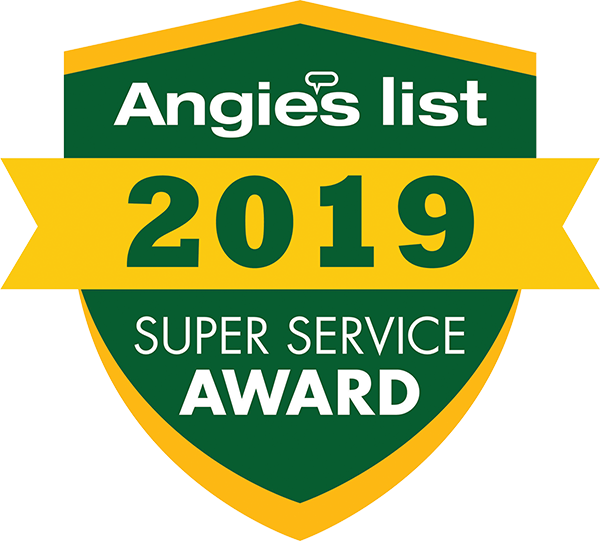 Myers Gutter Services achieved and maintained a superior service rating on Angie's List throughout 2019 as determined by our members